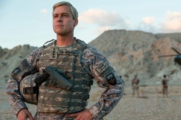 В мае прошлого года на экраны вышел фильм «Машина войны» с участием Питта