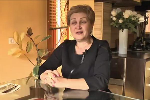Старшая сестра Елены Малышевой Марина Костенко