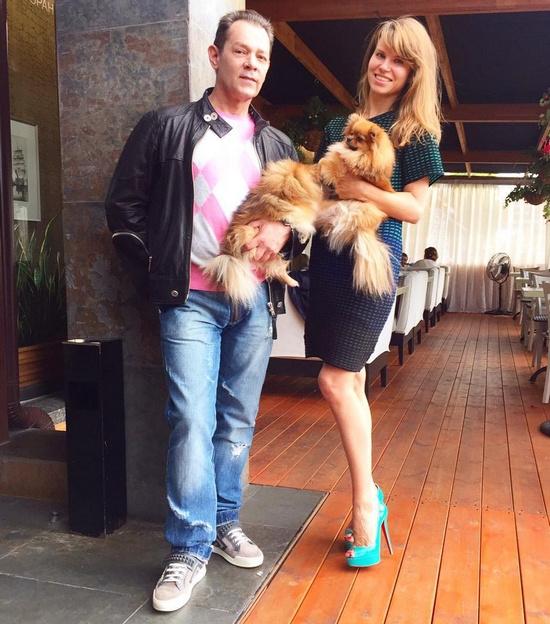 Вадим Казаченко женился на Ольге Мартыновой в 2014 году