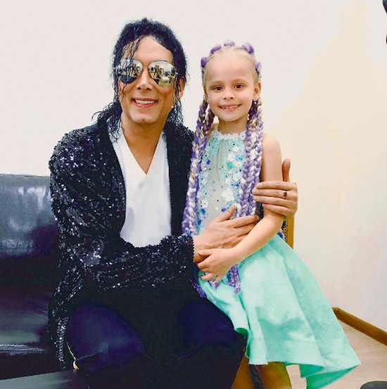 Кумир наследницы актера – король поп-музыки Майкл Джексон