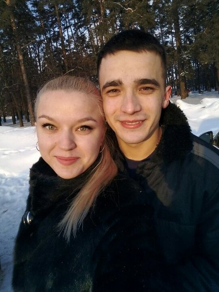 Сергей Семенов с сестрой Екатериной после выхода на свободу