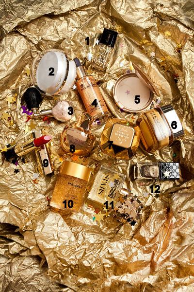 Топ - 12 средств с золотом