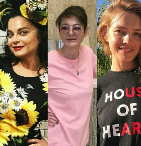 Наташа Королева, Ирина Хакамада и Наталья Водянова