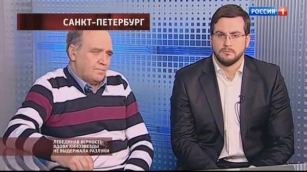 Внучатые племянники актера Алексей и Кирилл Вронские