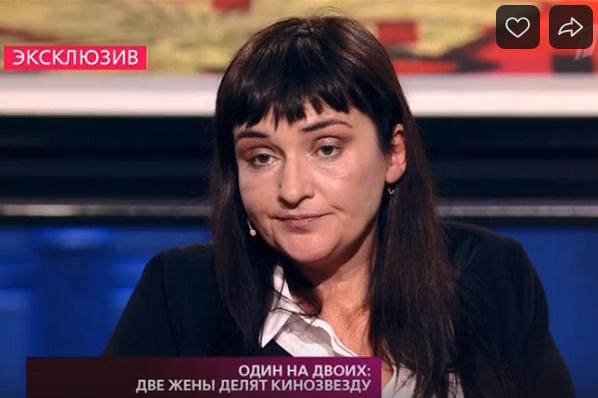 Первая жена актера — Наталья Василькова