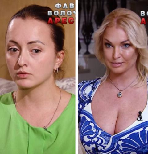 София Скиртач и Анастасия Волочкова