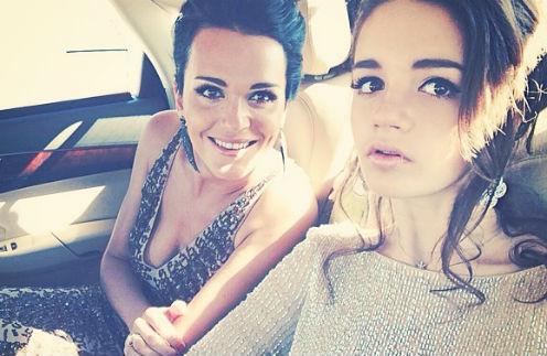 Певица Слава с дочерью Александрой