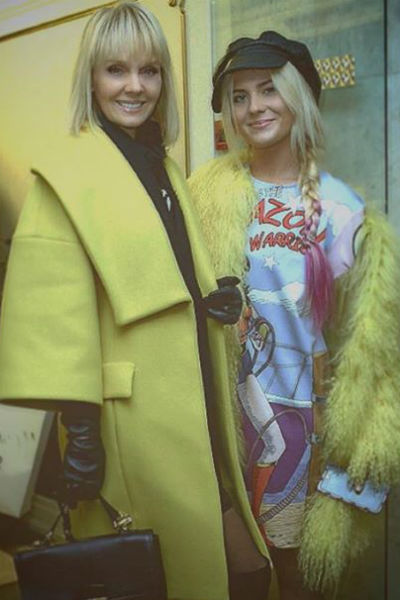 Иногда Валерия с дочерью одеваются в одной цветовой гамме