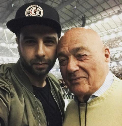 Иван Ургант и Владимир Познер