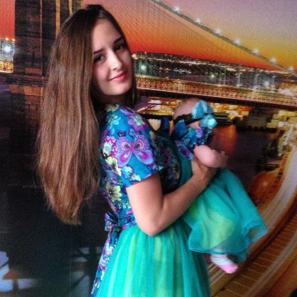 Маргарита Агибалова с дочкой Бэллой