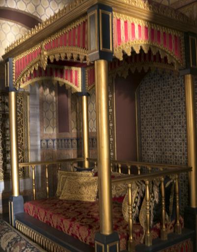 Внутреннее убранство дворца Топкапы