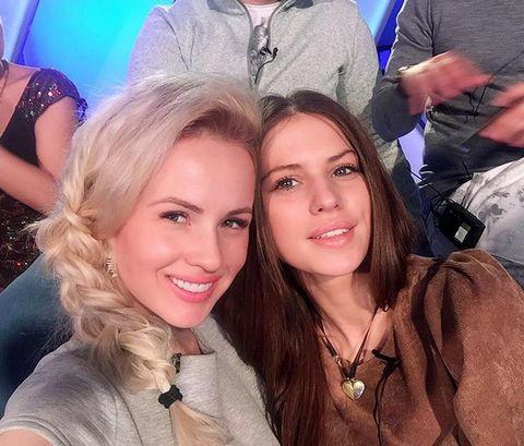 Саша Харитонова и Саша Артемова