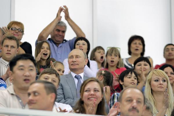 Мероприятия в Сочи проходили при участии президента РФ Владимира Путина