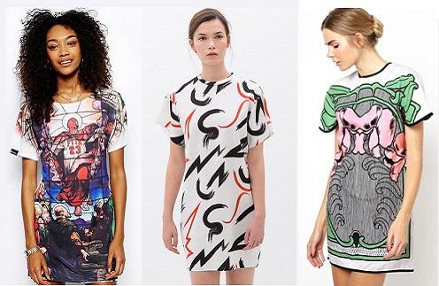 Платья слева направо: Ichiban, Zara, McCall