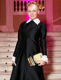 Яна Рудковская всегда тщательно следит за собой