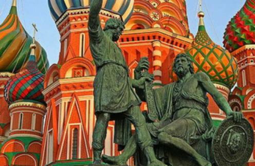 Памятник Минину и Пожарскому в Москве