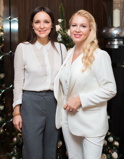 Алина Крюкова и Екатерина Одинцова