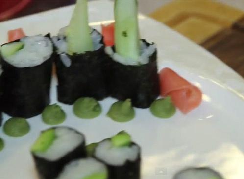 Выпуск 43. Роллы с огруцом и авокадо