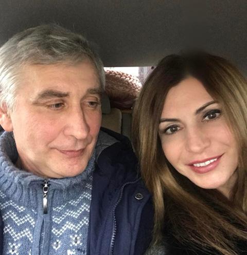 Ирина Агибалова с мужем Юрием