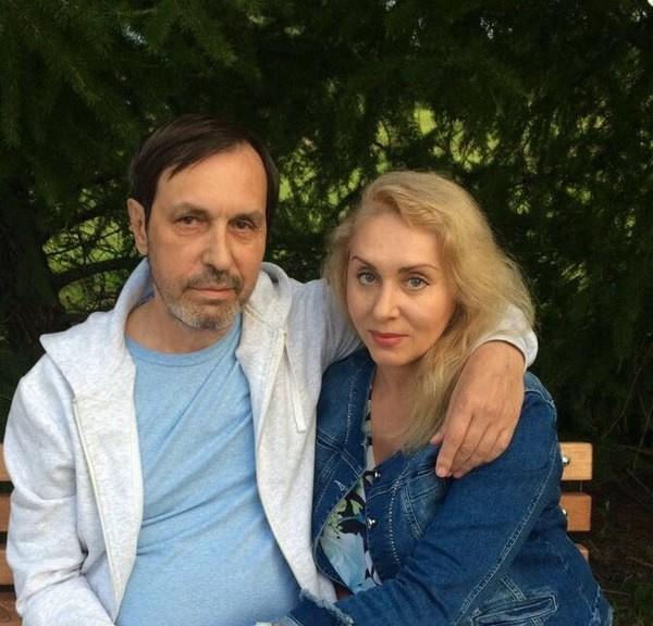 Николай с супругой Мариной