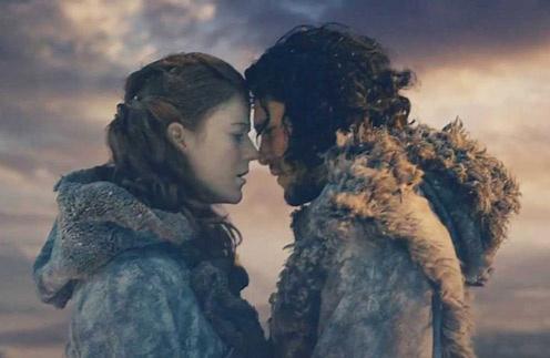 Кит Харингтон и Роуз Лесли перенесли любовь из сериала в жизнь