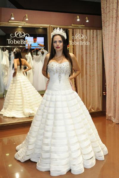 Некоторые платья Романец даже не хотела снимать