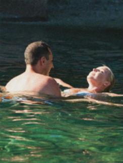 Июль 2012. Анастасия с экс-супругом Игорем Вдовиным