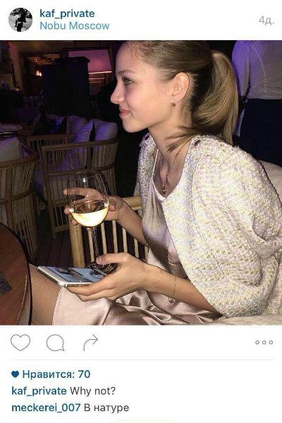 В приватном микроблоге Леся постоянно публикует фотографии из ночных клубов