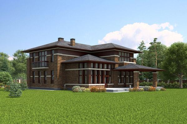 Тина мечтала о доме  с панорамными окнами