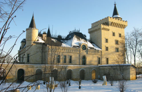 Замок Аллы Борисовны и Максима