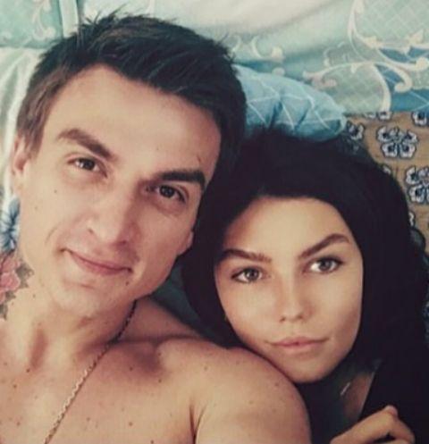 Влад Топалов с супругой Ксенией
