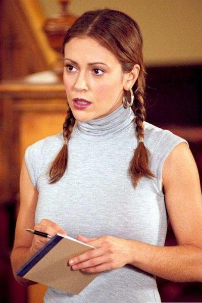 Алисса Милано в сериале «Зачарованные»