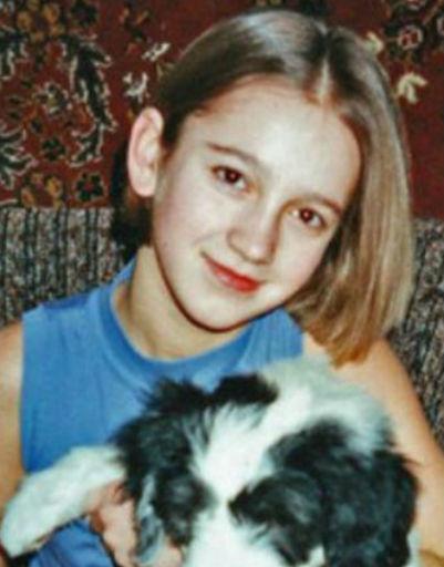 Ольга в детстве носила короткую стрижку.