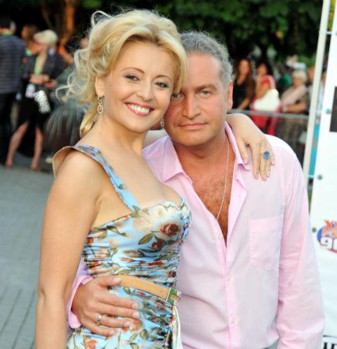 Angelica Varum and Leonid Agutin