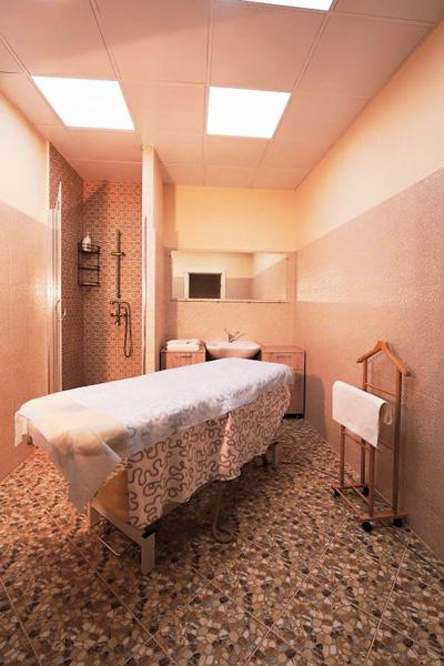 После массажа клиент сможет принять душ и привести себя в порядок