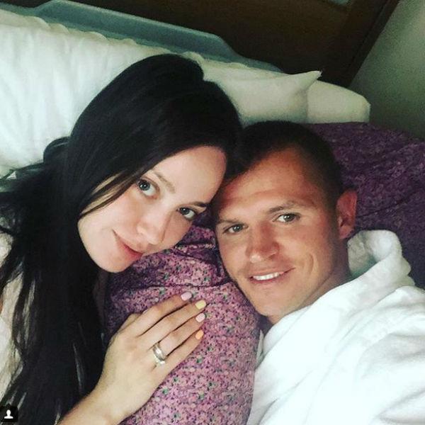 Тарасов с новой женой Анастасией Костенко