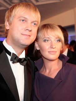 Сергей Светлаков с женой Юлией Ворончихиной