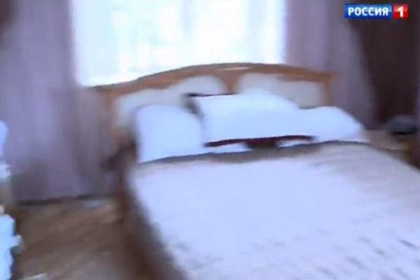 Спальня Жанны оформлена в светлых тонах