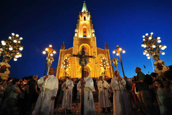 Религиозный фестиваль на Мальте