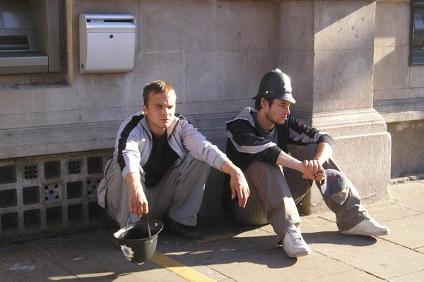 В 2008 году в фильме «Больше Бена» роль Спайкера сыграл Андрей Чадов (на фото). А в июне 2014-го актер и прототип его героя Сергей Сакин встретились в антинаркотическом лагере в Сочи