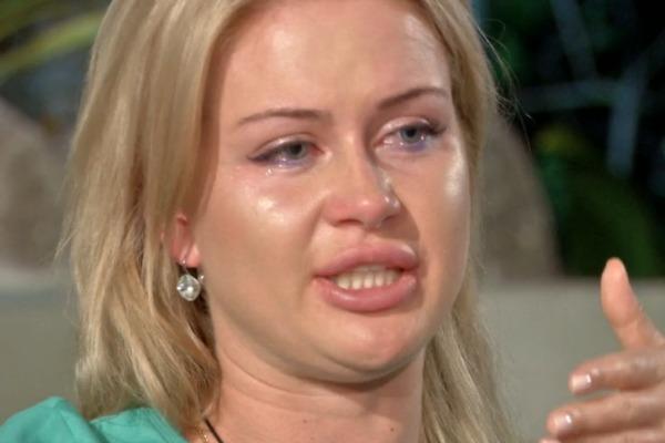 Девушка расплакалась в эфире