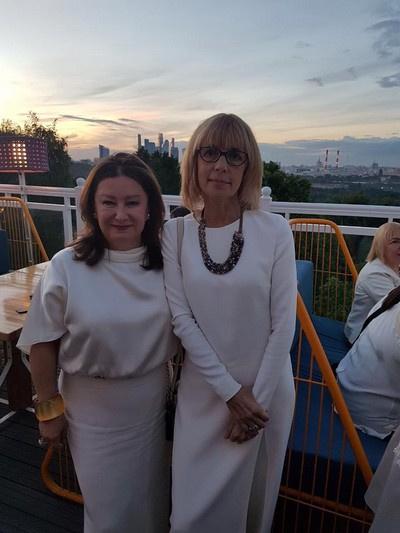 Наталья Иванова и Вера Глаголева
