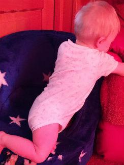 Бэлла Марсо растет подвижным ребенком