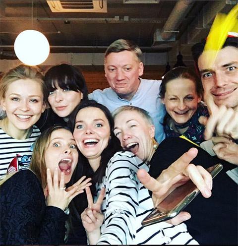 Елизавета Боярская и Максим Матвеев отметили день рождения сына в компании друзей-актеров