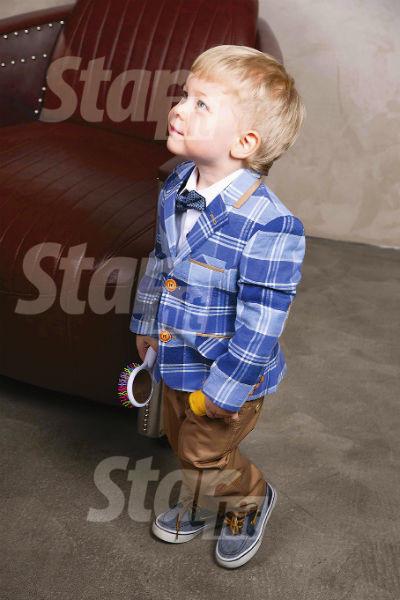 Сыну Анны Дане два с половиной года