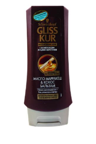 """Gliss Kur Бальзам для волос """"Масло марракеш и Кокос"""", 135 руб."""
