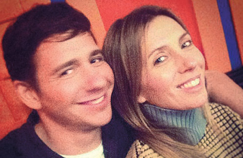 Светлана Бондарчук с братом Григорием Рудским
