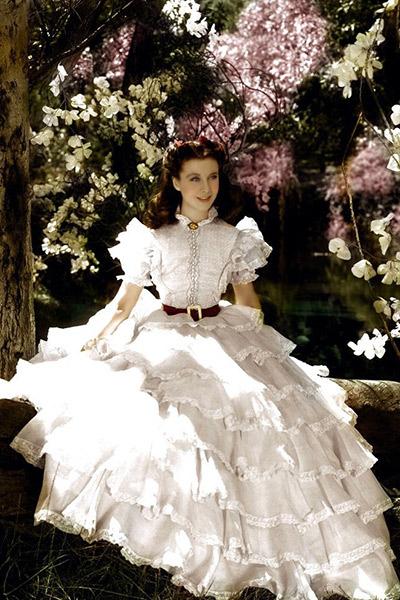 Певица с детства  мечтала о наряде,   как у Скарлетт   из «Унесенных   ветром  »