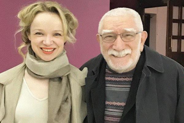 Армен Джигарханян и Виталина Цымбалюк-Романовская