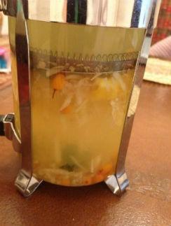 Вкус чая из имбиря очень терпкий